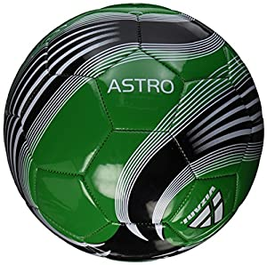 Vizari Astro Soccer Ball, Green/Black, 3