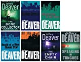 Jeffery Deaver Jeffery Deaver: 7 book variety pack: (The Empty Chair / Manhattan Is My Beat / Mistress Of Justice / The Bone Collector / Death of a Blue Movie Star / Shallow Graves rrp 55.93)