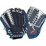Rawlings GG Gamer XLE Trap-eze Baseball 12.75'' Pit/Inf Glove Gray/Blue. G601GR