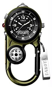Dakota Angler II Clip Watch - OLIVE GREEN/BLACK One Size