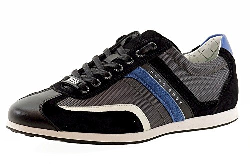 Hugo Boss, Sneaker uomo Grigio Grigio scuro 44, Grigio (Grigio scuro), 44