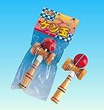 木のケン玉 300個入  / お楽しみグッズ(紙風船)付きセット [おもちゃ&ホビー]