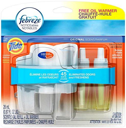 Febreze Air Freshener Starter Kit - Tide Original - .87 Oz (Air Freshener Starter Kit compare prices)