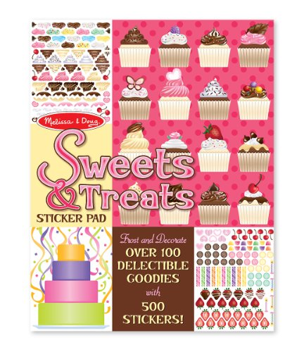 Melissa & Doug Sweets & Treats Sticker Pad (Bake Stickers compare prices)