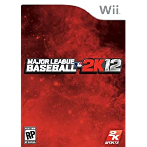 Major League Baseball 2K12 Wii Video Game