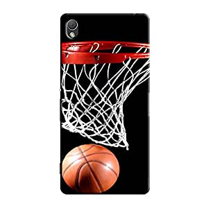 BASKETBALL RING BACK COVER FOR SONY XPERIA Z5