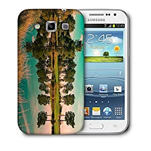Snoogg River Side Tree Printed Protective Phone Back Case Cover For Samsung Galaxy Samsung Galaxy Win I8550 / S IIIIII