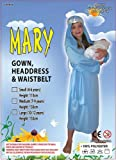 Virgin Mary Kids Nativity Costume size small (4-6yrs)
