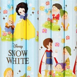 blue and green Snow White fairy tale pencil 2B from Japan