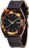 [ニクソン]NIXON TIME TELLER ACETATE LEATHER: BLACK/TORTOISE NA513636-00 レディース 【正規輸入品】
