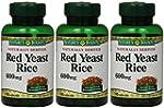 Nature's Bounty Red Yeast Rice, 600 m...