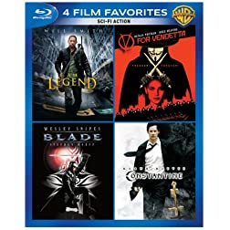 4 Film Favorites: Sci-Fi Action [Blu-ray]