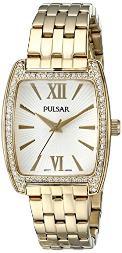 Pulsar Three-Hand Stainless Steel - Gold-Tone Women's watch #PH8096
