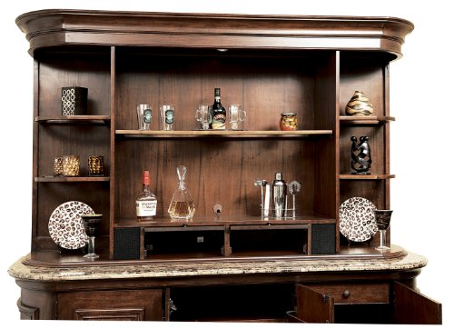 Howard Miller 693-021 Ithaca Back Bar Hutch by (Bar Hutch compare prices)