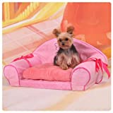 Colorfulhouse® Fantasy Couch Pet Bed With Removable Cover, Medium 24 X 14-Inches