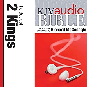 King James Version Audio Bible: The Book of 2 Kings Audiobook