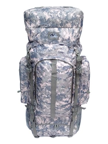 "34"" 4700 Cu. In. Tactical Hunting Camping Hiking Backpack Hb001 Dm Digital Camouflage"