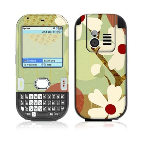 Asian Flower Decorative Skin Cover Decal Sticker for Palm Centro 685 690 Cell Phone
