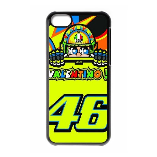 iPhone 5C Phone Case Valentino Rossi VR46 Moto GP Logo 46 WE736152
