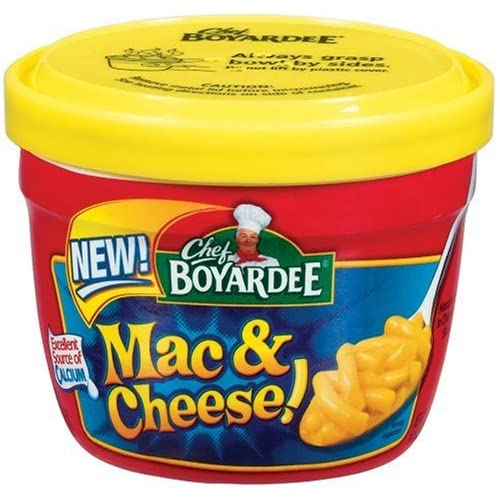PSA: Chef Boyardee Mac and Cheese is HORRIBLE AnandTech Forums: Technology Hardware Software