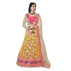 Triveni Net & Art Silk Lehenga Choli (TSMH3745_Multi)