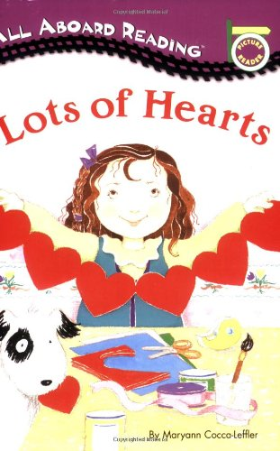 Lots of Hearts (All Aboard Reading)