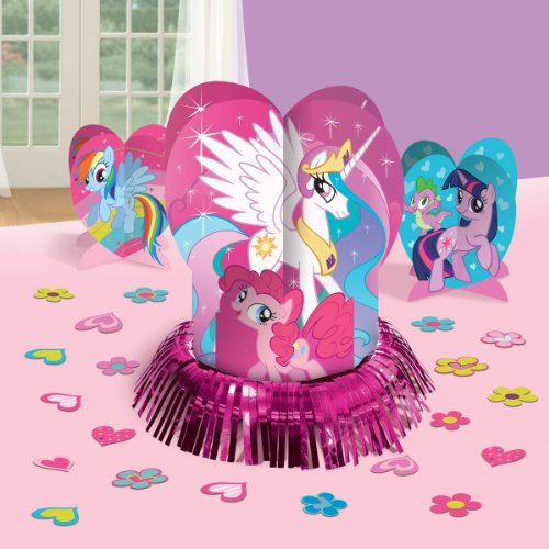 My Little Pony Party Table Decorations Kit ( Centerpiece Kit ) 23 PCS - Kids Birthday and Party Supplies Decoration - 1