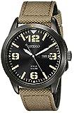 Military Watches Seiko Men's SNE331 Core Analog Japanese quartz Beige Solar Watch