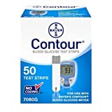 TEST STRIPS BLOOD GLUCOSEUSE W/9545 METERS 50/BX Bayer Healthcare LLC Diabetes Care