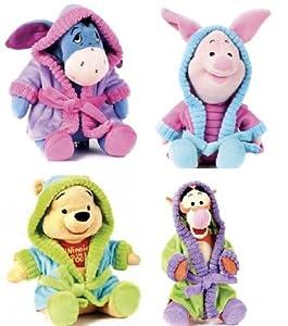 Genuine 30.5cm Winnie The Pooh Bedtime Disney Characters Tigger Eeyore Piglet Winnie the Pooh