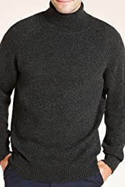 Blue Harbour Pure Lambswool Roll Neck Jumper [T30-2417B-S]