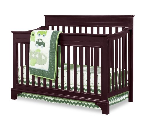 Broyhill Kids, Messina 4-in-1 Convertible Crib, Cherry