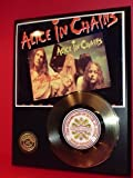Alice In Chains 24Kt Gold Record LTD Edition Display