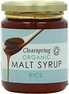 Clearspring Organic Rice Malt Syrup 330 g (Pack of 3)