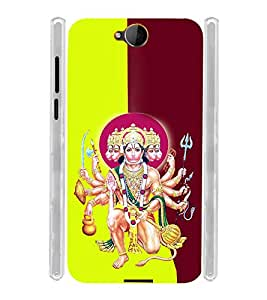 Lord Hanuman Bagwan Soft Silicon Rubberized Back Case Cover for Microsoft Lumia 650