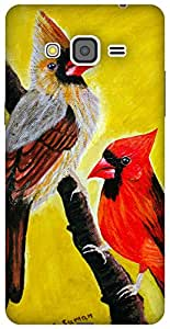 The Racoon Lean Cardinal Pair hard plastic printed back case / cover for Samsung Galaxy Grand Prime