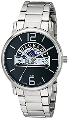 "Game Time Women's MLB-AAR-COL ""All-Around"" Watch - Colorado Rockies"