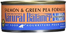 buy Dick Van Patten'S Natural Balance Limited Ingredient Salmon And Green Pea Canned Cat Food (Case Of 24), 5.5 Oz.