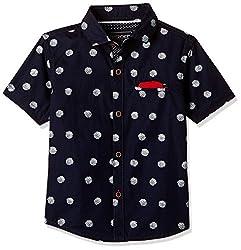 Cherokee Boys' Shirt (267982314_Navy_5 - 6 years)
