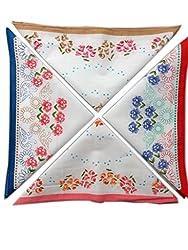 Blacksmithh 100% Cotton Ladies Handkerchief Colorful Prints