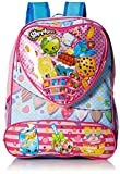 Shopkins Girls' 16 Inch Backpack Heart Shaped Pocket, Pink, No Size