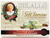 DeLallo Soft Torrone Almond Honey Nou…