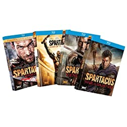 Spartacus Seasons 1-4 Bundle [Blu-ray]