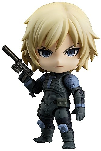 【Amazon.co.jp限定】 ねんどろいど METAL GEAR SOLID2: SONS OF LIBERTY 雷電 MGS2ver. (ダンボール(Z.O.Eデザイン)付き)