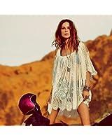 Culater® Mode Floral Vintage Hippie Boho personnes en dentelle brodée Mini-robe Crochet