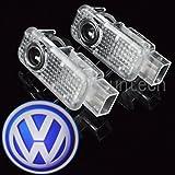Ruicer Autot�r Logo Projektion Licht T�rbeleuchtung Einstiegsbeleuchtung Laser Projektor f�r Volkswagen Touareg PASSAT Phaeton 2 Paket