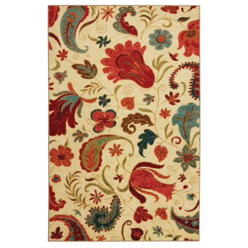 8'x10' Area Rug. Multi Color LUXURIOUS Plush and Soft by MOHAWK SELECT - Select Textures 58110-58013 Tropical Acres