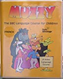 Muzzy: The BBC Language Course for Children - French Level I - 5 VHS, 2 cassette, 2 books