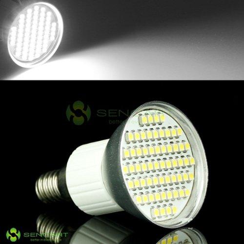 E14 60Smd 3528 Led White Light Spotlight Bulb 85~265V/3.6W #A