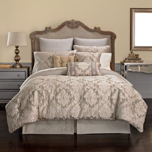 Croscill Ava Comforter Set, Full front-1078096